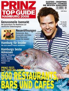 """PRINZ Top Guide Hamburg 2008"""