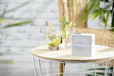 VR-Radio Steckdosenradio MPS-800.bt mit DAB+/FM, Bluetooth, USB, Freisprecher & Akku, 6 Watt