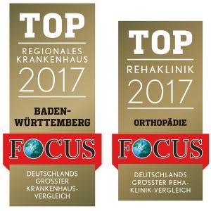 Top-Kliniken 2018: Klinikum Christophsbad und Rehaklinik Bad Boll gehören erneut zu den besten Deutschlands