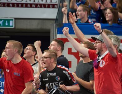 HC Erlangen vor erstem Auswärtsspiel gegen den Bergischen HC (Foto: HJKrieg, hl-studios, Erlangen)