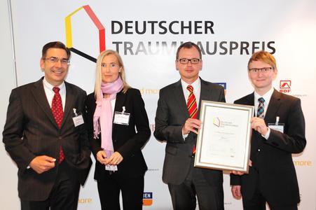 Siegerfoto Deutscher Traumhauspreis 2012