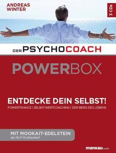 """Hinter der """"Power-Box"""" steckt der vieltausendfach bewährte Psychocoach-Ansatz von Andreas Winter, beruhend auf tiefenpsychologischer Analyse, dem Arbeiten mit bildhaften Vorstellungen und Neurolinguistischem Programmieren (NLP)."""