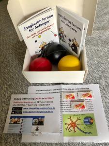 Power-Box Jonglieren  -  https://www.Jonglierschule.de