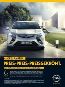 """Opel-Doppelsieg: ADAM und Ampera gewinnen """"Auto Trophy"""""""