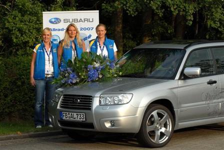 Subaru sucht die Allrad-Lady 2007