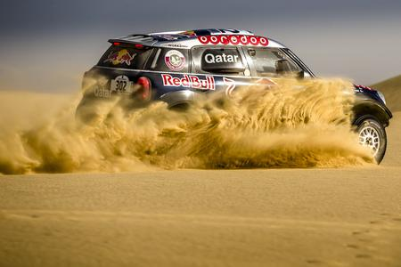 Pharaons Rally 2015, Egypt, Nasser Al-Attiyah (QAT), Mathieu Baumel (FRA), MINI ALL4 Racing #302 - Qatar Rally Team - 16.05.2015