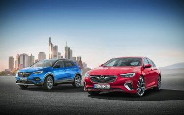 Top-Modelle, Top-Premieren: Opel präsentiert auf der IAA in Frankfurt erstmals den neuen Opel Grandland X und den neuen Opel Insignia GSi