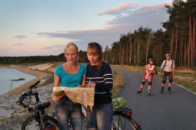 Radfahren & Skaten / Quelle:  Tourismusverband Lausitzer Seenland, Nada Quenzel