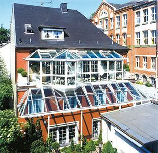 gesch tzte dachterrasse sunshine wintergarten gmbh. Black Bedroom Furniture Sets. Home Design Ideas
