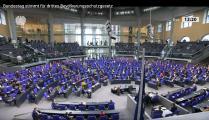 Screenshot der Bundestagsdebatte vom 18.11.2020 © Foto: Deutscher Bundestag/youtube