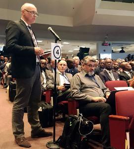 Redebeitrag von Johannes Naether vor der Abstimmung über die Verwarnung
