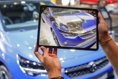 2019 Opel IAA Augmented Reality Corsa e