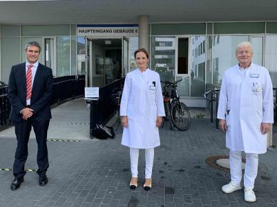 Spezialisierte Patientenversorgung dank überregionaler Zusammenarbeit: Thoraxklinik am Universitätsklinikum Heidelberg kooperiert mit dem Klinikum in Darmstadt