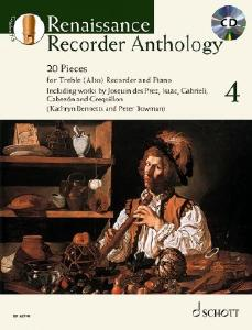 Schott ED22946 Renaissance Recorder Anthology 4