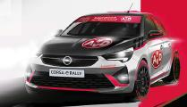 Opel Corsa-e Rally im AvD Design