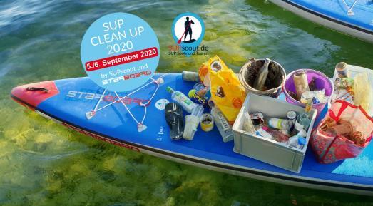 Titelbild SUP CLEAN UP 2020