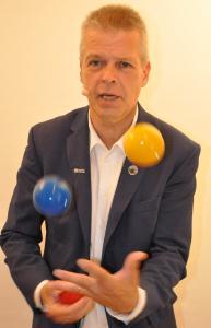 Stephan Ehlers - Experte für Jonglieren