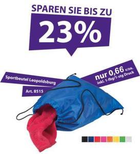 Sport-Bag für viele Anwendungsmöglichkeiten