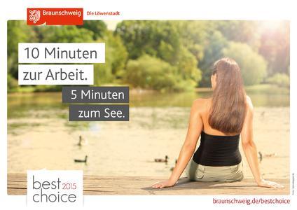 """Die Kampagne """"best choice"""" der Braunschweig Stadtmarketing GmbH zeigt Braunschweigs Vorteile als Arbeits- und Lebensstandort auf."""
