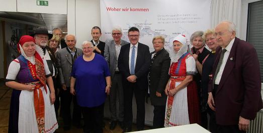 Sudetendeutsches Kulturerbe bewahren - Gruppenbild