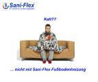 wohlige Wärme mit Sani-Flex Fußbodenheizungen