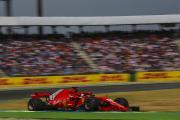 Sebastian Vettel auf Ferrari beim Großen Preis von Deutschland 2018