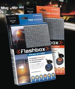 Flashbox Verpackung Pkw- und Lkw-Version