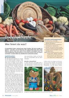 Erntedank: Mehr als landwirtschaftliche Tradition