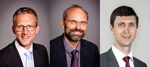 rd Schwab, Oliver Fichtberger, Stefan Giuliani (v.l.)  © Fotos: Kirche der Siebenten-Tags-Adventisten, Österreichische Union