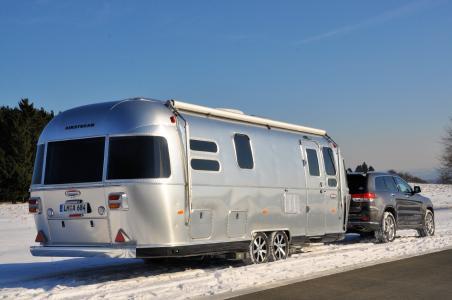 Airstream Wintercamping