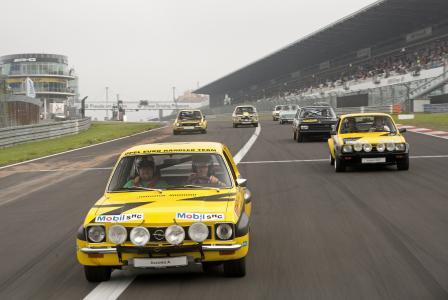 Rallye-Europameister 1974: Der Opel Ascona A von Walther Röhrl und Jochen Berger / Foto: Adam Opel AG