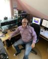 Vereinsleben auf den Frequenzen: DARC-Vorstandsmitglied Ernst Steinhauser pflegt seine sozialen Kontakte über Funk