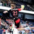 (HJKrieg, Erlangen) - HC Erlangen: Christopher Bissel mit dem letzten Treffer zum 35:19 gegen Aue