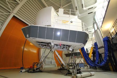 Flugsimulatoren bei Lufthansa Flight Training