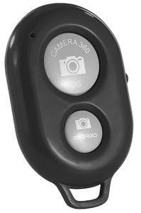PEARL Kabelloser Bluetooth-Fernauslöser für Smartphone-Kameras, weiß