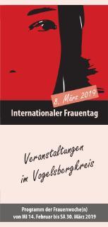 FRAUENTAG 8. März: Umfangreiches Programm