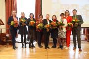 Die Vorstandsvorsitzenden der letzten 25 Jahre sowie die Leitung der Geschäftsstelle © Tino Sieland