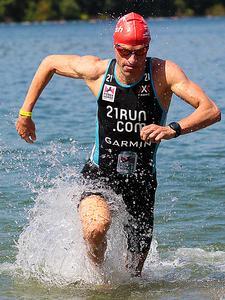Timo Bracht - Triathlon Viernheim 2012
