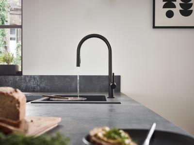 Mit schlanker Silhouette und klarer Formensprache bringt Talis M54 modernste Designansprüche stilsicher zum Ausdruck und strahlt mit ihrem ganzheitlichen Farbkonzept einen zeitlosen Charakter aus.