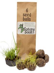 Rache im Garten: Saatball-Set Satans Saat aus dem Racheshop