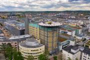 Einweihung des Hubschrauberlandeplatzes am 3. Mai / Quelle: Klinikum Darmstadt