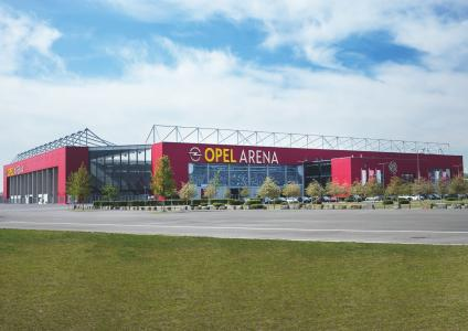 Football first: The stadium in Mainz is now officially called the OPEL ARENA