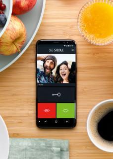 Die Siedle App macht das Smartphone zum bequemen Türöffner – für einen entspannten Sonntags-Brunch