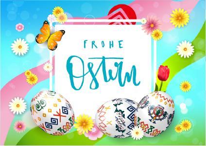 Frohe Ostern mit frischen Ideen rund um das Osterei.
