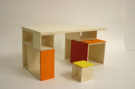 Kindermöbel Module von Kay Bodrich