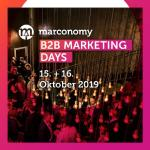 """B2B Marketing Days 2019"" - der Fachkongress für den Mittelstand"