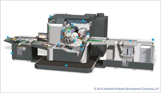 "Innovative: ""HP Indigo 10000 Digital Press"""