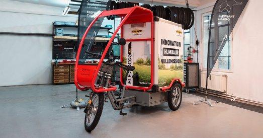 Einen Schritt voraus – Lastenräder mit FlexBox Aufbau als Pionier in der E-Mobilität