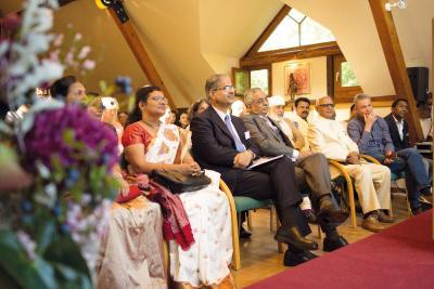 Besucher des Ayurveda Symposiums