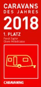 """1. Platz """"Obere Mittelklasse"""": Fendt-Caravan Saphir"""